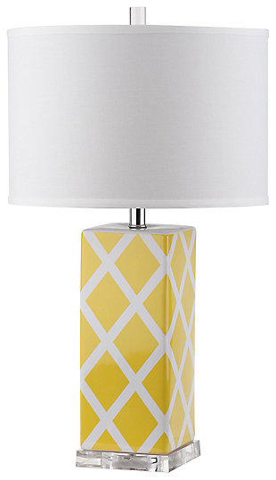 Lattice Patterned Table Lamp, , large