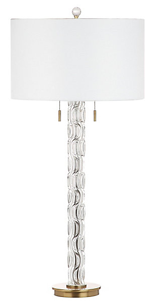 Glass Rayna Table Lamp, , rollover