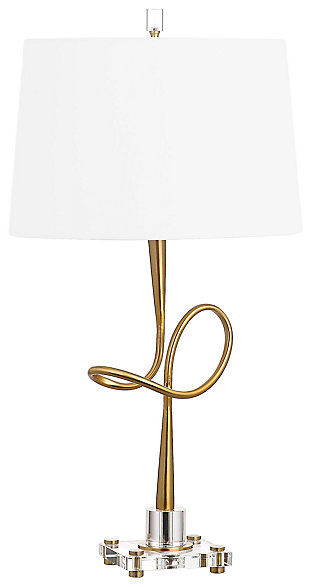 Metal Table Lamp, , large