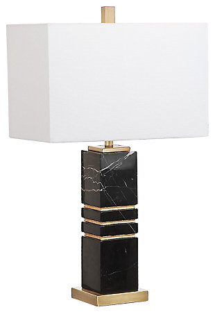 Marble Sculpted Table Lamp, , large