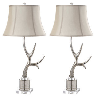 Sculpted Antler Table Lamp, , large