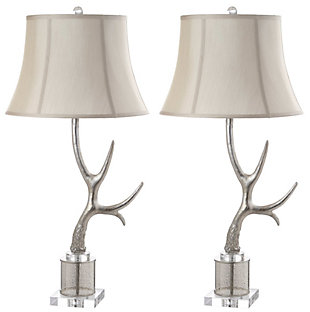 Sculpted Antler Table Lamp, , rollover