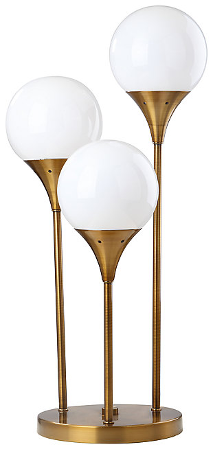Gold Finished Trio Table Lamp, , large