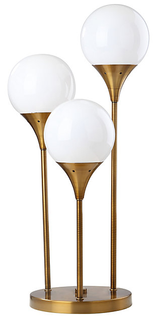 Gold Finished Trio Table Lamp, , rollover