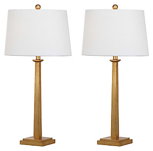 Gold Finished Table Lamp (Set of 2), , large