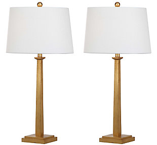 Gold Finished Table Lamp (Set of 2), , rollover