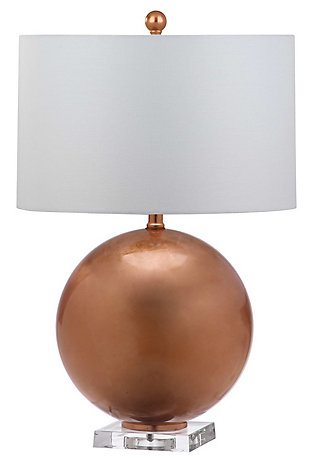 Copper Finished Table Lamp, , rollover