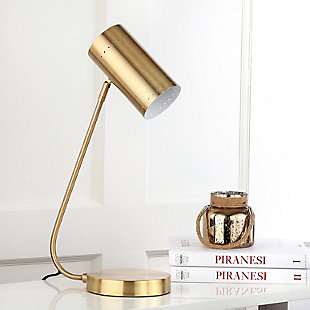 Gold Finished Table Lamp, , large
