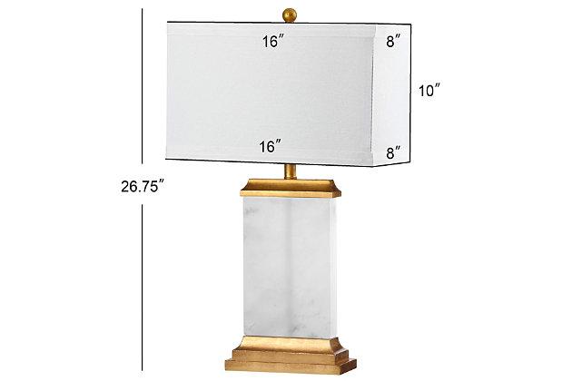 Alabaster Table Lamp, , large