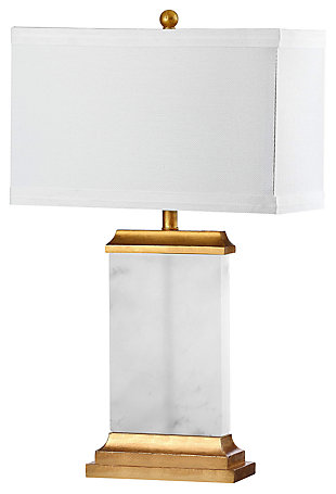 Alabaster Table Lamp, , large
