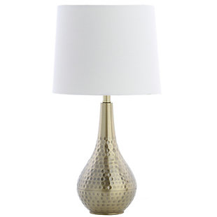 Textured Metal Table Lamp, , rollover