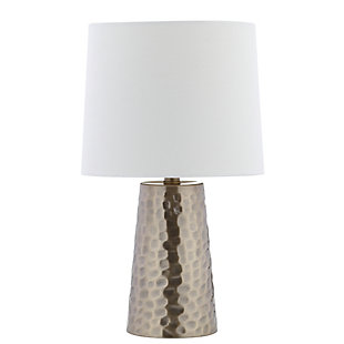 Metal Textured Table Lamp, , rollover