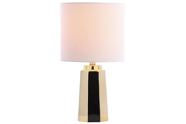 Ceramic Gold Finished Table Lamp, , large