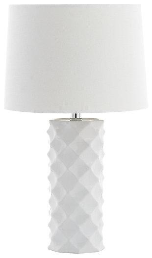 Ceramic Textured Table Lamp, , large