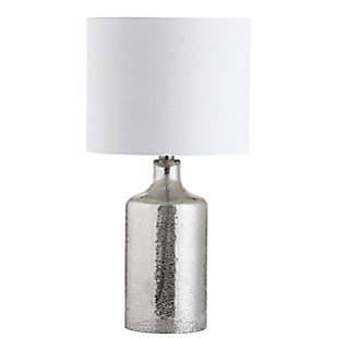 Silver Finished Contemporary Table Lamp, , rollover