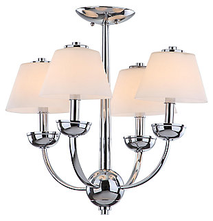 "Four Light 18.9"" Chandelier, , large"