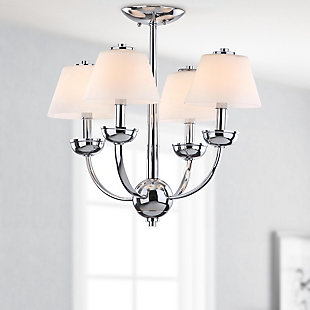 "Four Light 18.9"" Chandelier, , rollover"