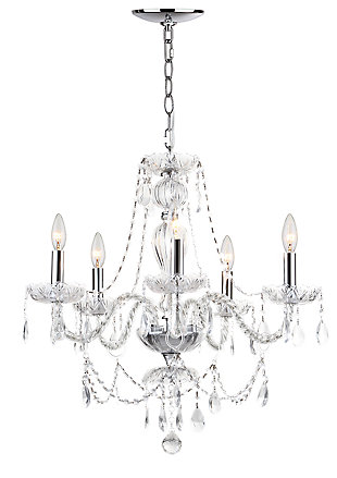 "Adjustable Length 22.5"" Chandelier, , rollover"