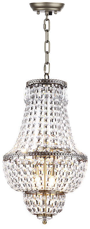 "Adjustable Length 12.15"" Chandelier, , large"