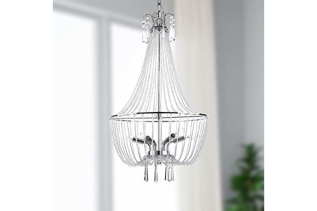 "Adjustable Length 17.5"" Chandelier, , large"