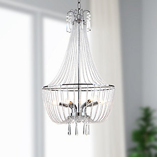 "Adjustable Length 17.5"" Chandelier, , rollover"