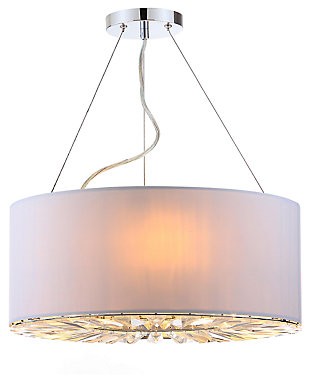 "Three Light 17.5"" Chandelier, , large"