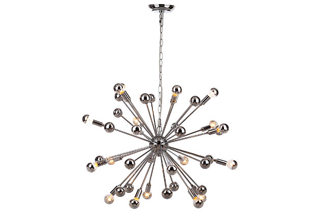 "Adjustable Length 31"" Pendant Light, , large"