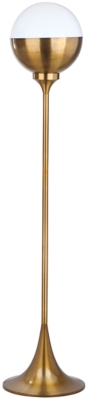 "Image of Gold Finish 63.5"" Floor Lamp, Brass Finish"