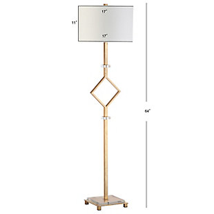 "Gold Finish 64"" Floor Lamp, , large"