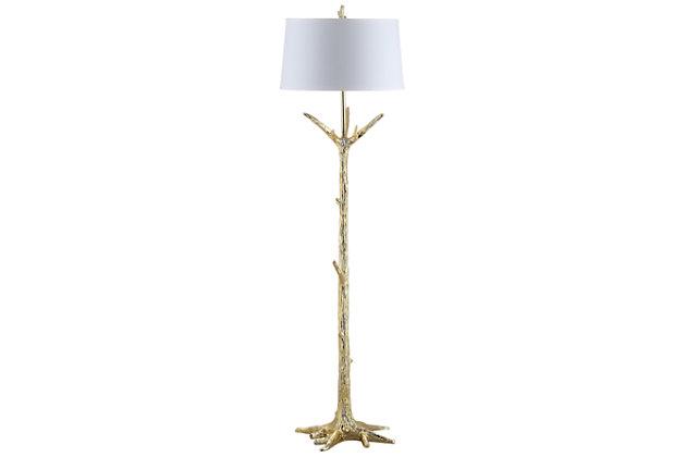 "Gold Finish Whimsical 64.5"" Floor Lamp, , large"