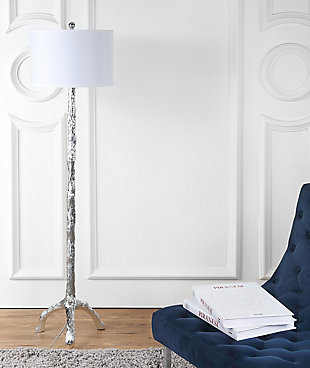 "Silver Finish Branch 58"" Floor Lamp, , rollover"