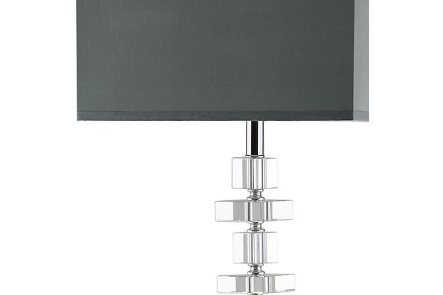 "Chrome Finish Square 60.5"" Floor Lamp, , large"