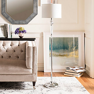 "Crystal 60"" Floor Lamp, , rollover"