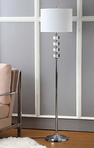 "Crystal 60"" Floor Lamp, , rollover"