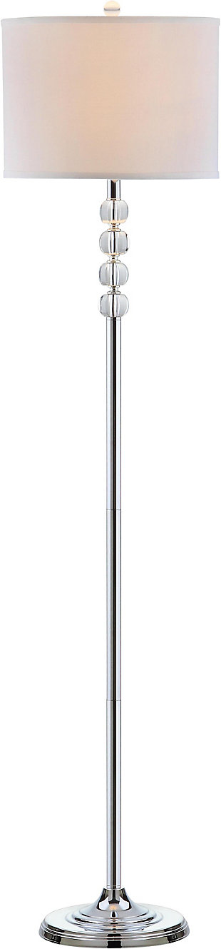 "Crystal 60"" Floor Lamp, , large"