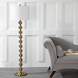"Stacked Globe 58.5"" Floor Lamp, , rollover"