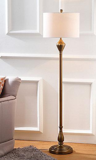 "Gold Finish 60.5"" Floor Lamp, , large"