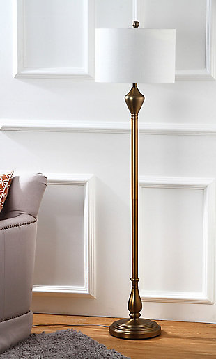 "Gold Finish 60.5"" Floor Lamp, , rollover"