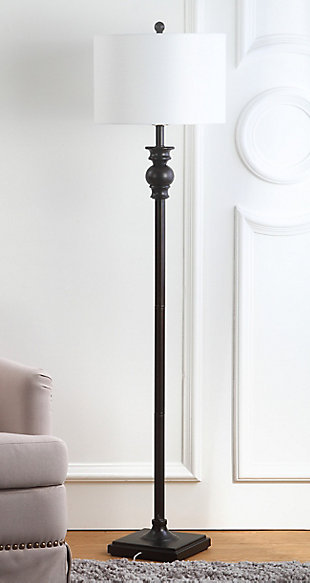 "Metal 61"" Floor Lamp, , rollover"