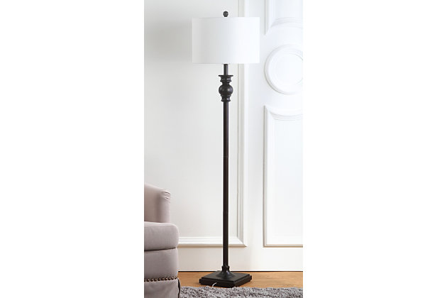 "Metal 61"" Floor Lamp, , large"