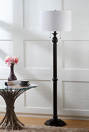 "Bronze Finish 58.75"" Floor Lamp, , rollover"