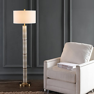 "Faux Snakeskin 60.5"" Floor Lamp, , large"