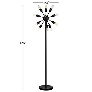 "Metal Industrial 67.5"" Floor Lamp, , large"