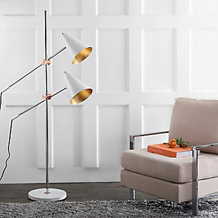 "Metal Contemporary 71"" Floor Lamp, , rollover"