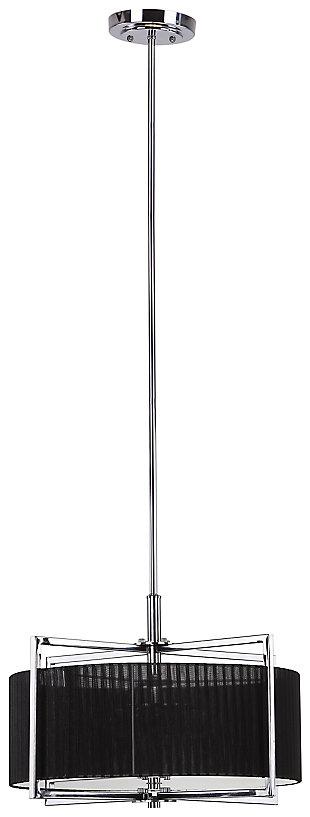 "Adjustable Length 20"" Pendant Light, , large"