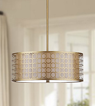 "Adjustable Length 18"" Pendant Light, , large"