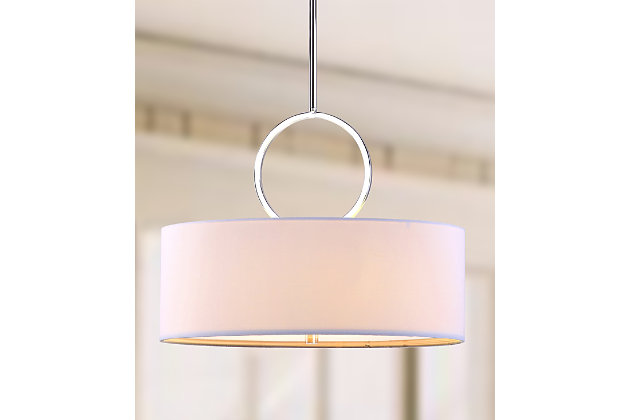 "Adjustable Length 18"" Pendant Light, , large"