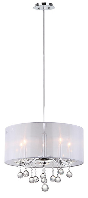 "Adjustable Length 20.25"" Pendant Light, , rollover"