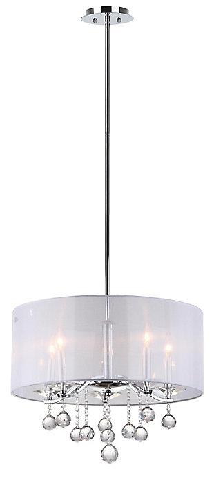 "Adjustable Length 20.25"" Pendant Light, , large"
