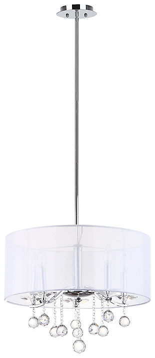 "Adjustable Length 20.25"" Pendant Light, , large"